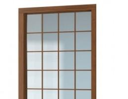 پنجره دو جداره مشبک