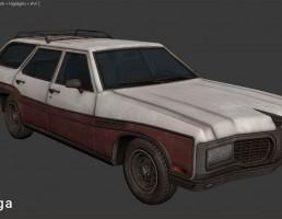 ماشین بیوک مدل Estate Wagon سال 1970