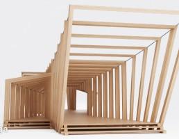 غرفه چوبی