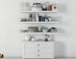 کمد + قفسه وسایل آشپزخانه