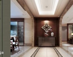 صحنه داخلی سالن نشیمن