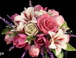 دسته گل طبیعی