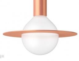 لامپ آویز به شکل زحل