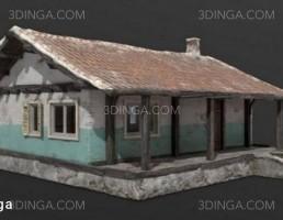 مدل سه بعدی خانه قدیمی