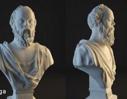 مجسمه سقراط