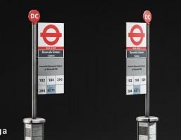 تابلو اعلانات شهری