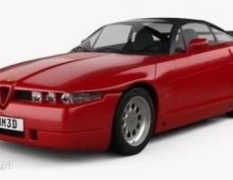 ماشین آلفا رومئو مدل SZ سال 1989