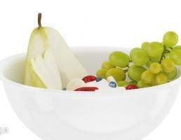 کاسه + انگور + گلابی