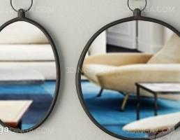 آینه دیواری مدرن