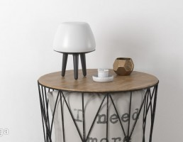 میز + آباژور