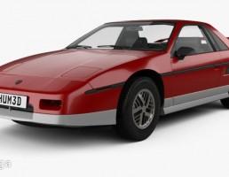 ماشین Pontiac Fiero GT 1985
