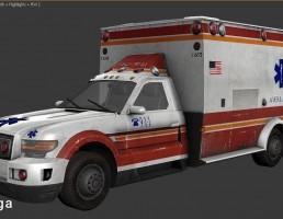 ماشین آمبولانس Ford