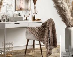 میز و صندلی + ست تزئینی
