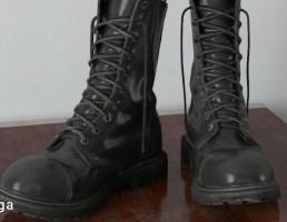 کفش پوتین مردانه