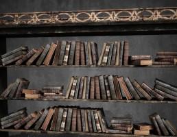 کتابخانه عتیقه و فانتزی