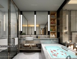 صحنه حمام پست مدرن 7