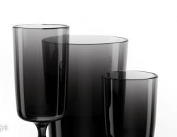 گلدان تزیینی کریستالی + شراب خوری