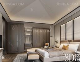 صحنه داخلی اتاق هتل