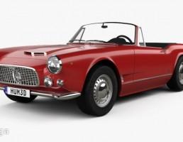 ماشین مازاراتی مدل 3500 Spyder سال 1959