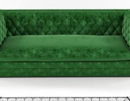 مدل سه بعدی مبل دونفره راحتی Sofa