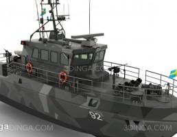 قایق گشتی HMS