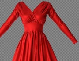 مدل لباس مخملی زنانه