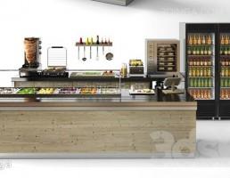 کافه رستوران مدرن