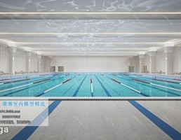 استخر شنا سبک مدرن
