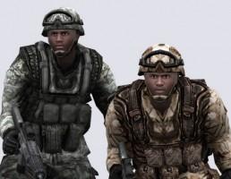 کاراکتر های ارتش آمریکا