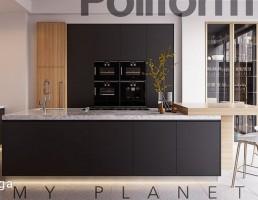 نمای داخلی آشپزخانه مدرن