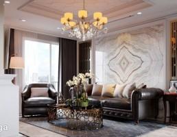 نمای داخلی آپارتمان لوکس