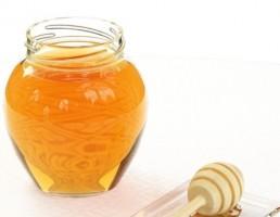 ظرف عسل + قاشق عسل