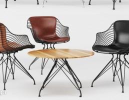 میز و صندلی نهارخوری + میز قهوه