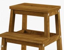 چهارپایه پله دار