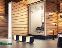 نمایشگاه مدرن داخلی