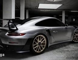 ماشین پورشه مدل GT2 RS 911