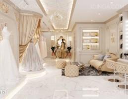 صحنه داخلی مزون لباس عروس