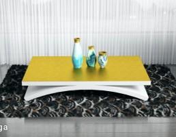 قالیچه + میز + گلدان
