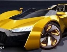 اتومبیل کربنی  مسابقه