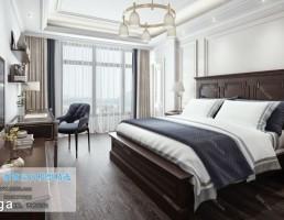 اتاق خواب سبک آمریکایی