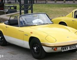 ماشین لوتوس مدل  Elan Sprint سال 1972