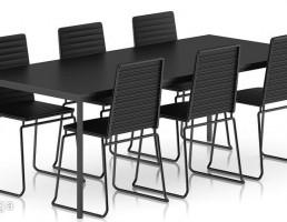 ست میز و صندلی ناهار خوری
