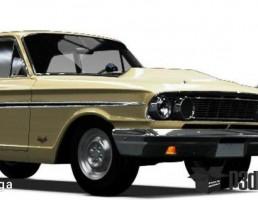 فورد مدل   Fairlane Thunderbolt  سال 1964