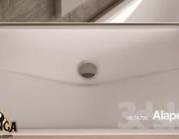 روشویی +میکسر حمام