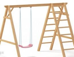 تاب تفریحی + نردبان چوبی