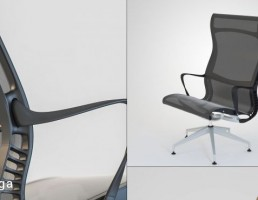 صندلی گردان + جلو پایی