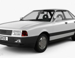 ماشین آئودی مدل 80 B3 سال 1986