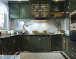 آشپزخانه سبک اروپایی