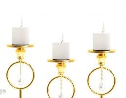 شمع + شمعدان لوکس