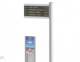 تابلو جدول زمانبندی اتوبوس